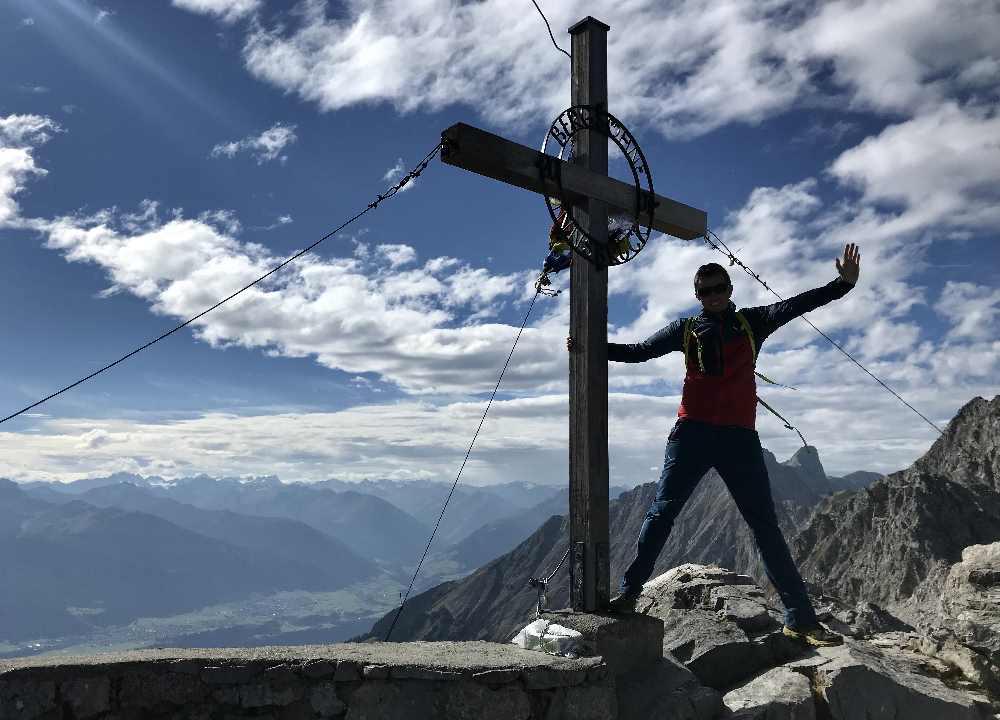 Schön geht es zum Wandern im Karwendelgebirge in Bayern und Tirol!