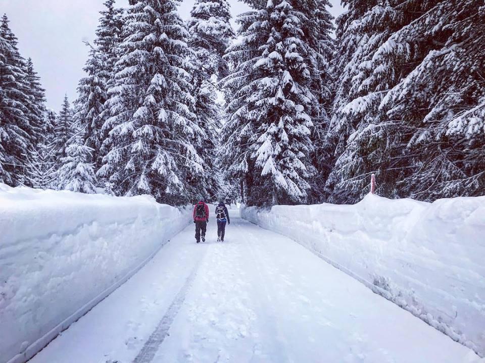 Geht nur selten in den Alpen - aber sehr gut im Karwendel: Winter Weitwandern!