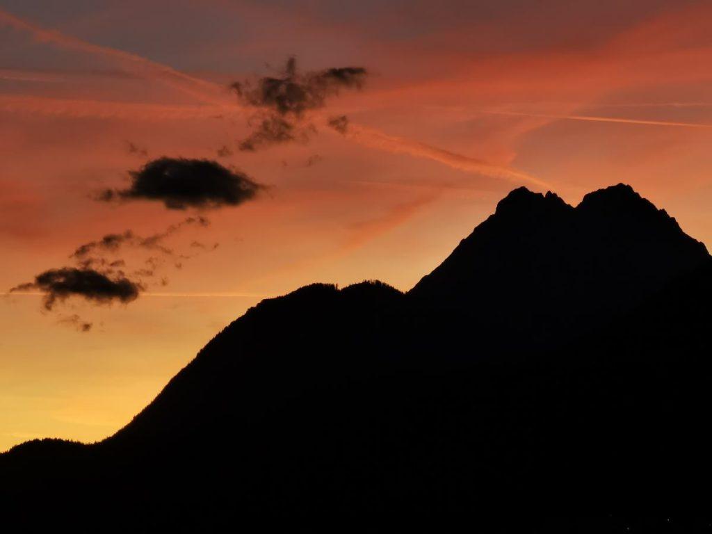 Sonnenuntergang im Karwendel - musst du mal gesehen haben!