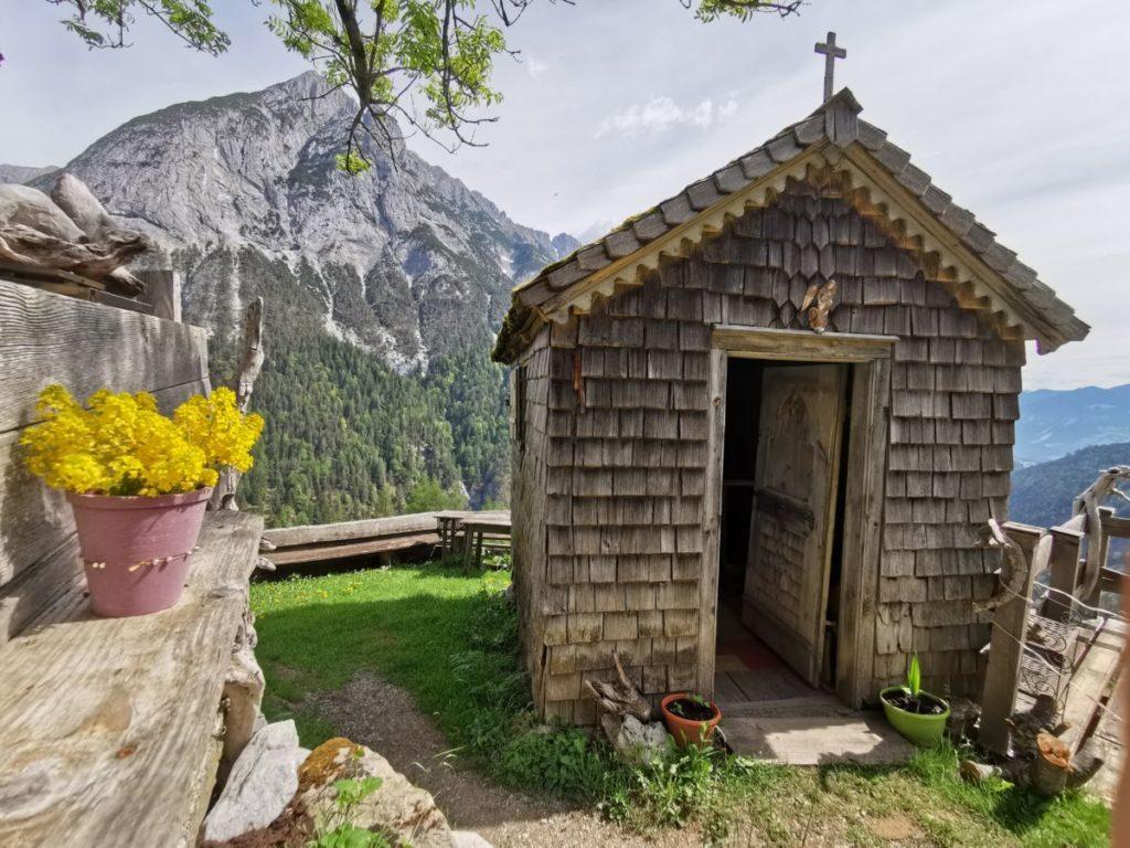 Das ist die Ganalm Kapelle