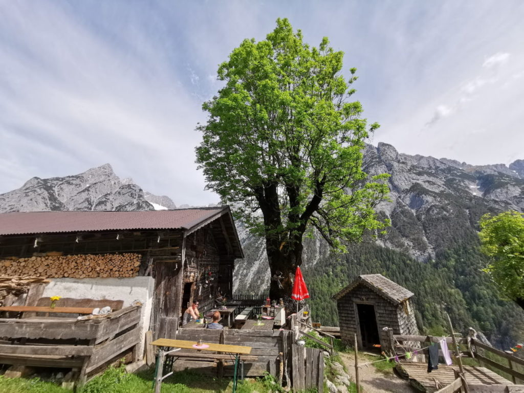 Die Ganalm im Karwendel